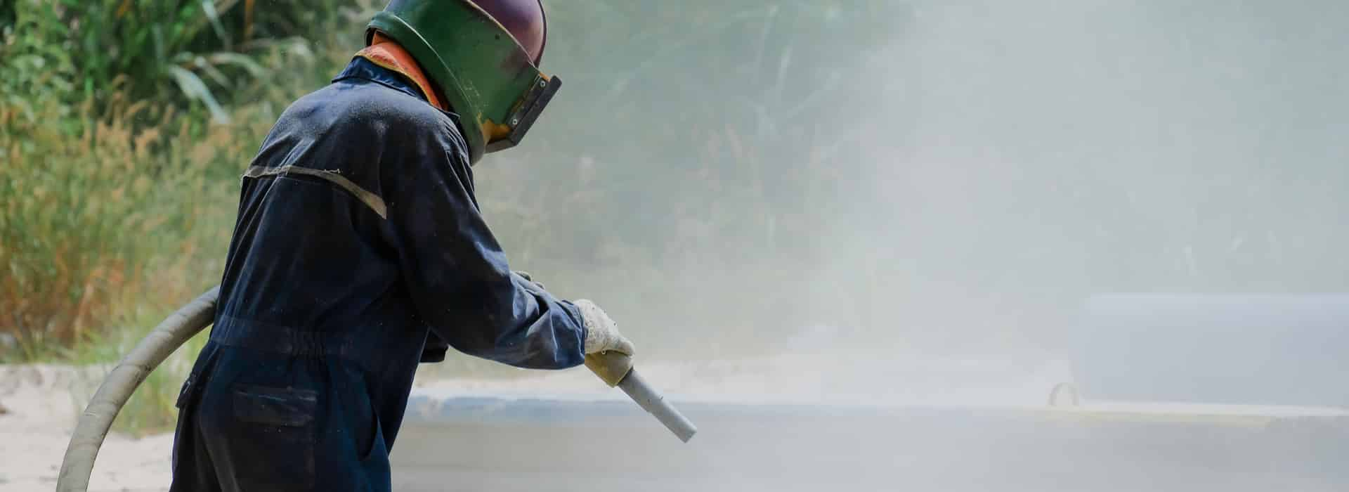 Paint Removal with Abrasive Blasting